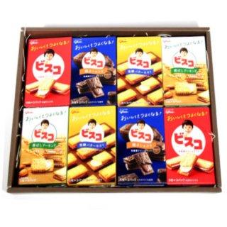 (地域限定送料無料) グリコ 健康 お菓子のビスコ4種類ギフトセット(4種・計16コ) おかしのマーチ (omtma5492gk)