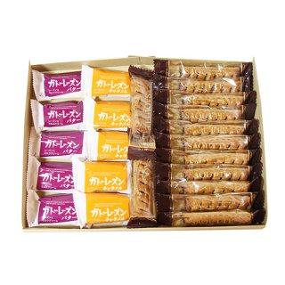 (全国送料無料) ブルボン・三立製菓の洋菓子2種類セット(ガトーレーズン 10個・サクッテ 13本) メール便 (omtmb6576z)