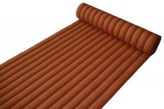片貝木綿 反物 -ストライプ/オレンジグラデーション