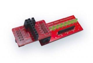 Arduinoコネクタ変換モジュール +  LED出力モジュール