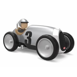 Racing Car Silver