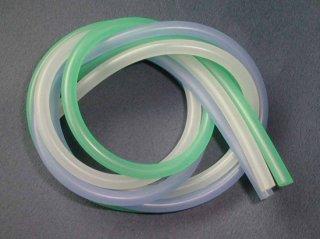 シリコンチューブ SP.二色セット (クリヤー/グリーン)