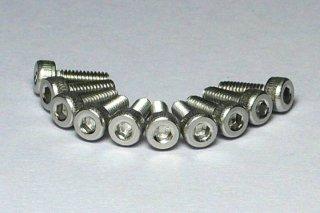 M2ステンレスCAPボルト 8mm(10個)