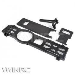 VWINRC製メタル・バッテリーマウント(黒)