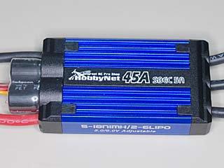 LP-ESC-MK3-45A-SBEC5A ブラシレスモーター用アンプ
