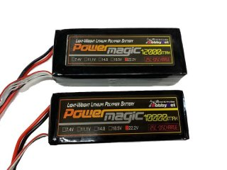PowerMagic-LW リポ[25C-TYPE] 22.2V-12000mAh UAV