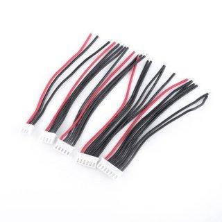 Li-Po用JST-HXバランス充電用コネクター(2セル用)