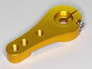 ハイテック・金属サーボホーン(35mm・金色)