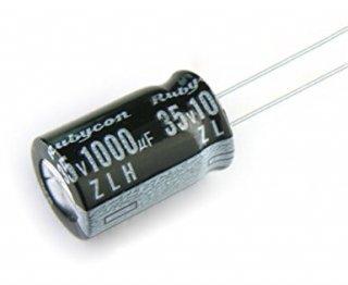 FC用コンデンサー 35V1000μF 105°