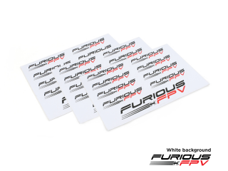 Furious FPV Sticker 105x150mm(3pcs)