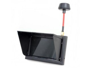 FX-F408 Black LCD 5.8G 32Ch FPV 4.3