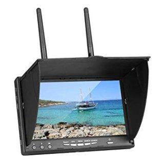LT5802D 5.8GHz LCD ダイバーシティ受信機7インチモニター(DVR・充電器付き)
