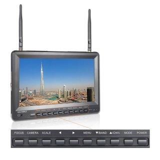 Feelworld PVR-1032 10.1インチ 5.8 GHz 40CH FPV-monitor
