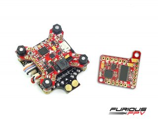 FuriousFPV combo FORTINI F4 Camera Control Edition + Piggy OSD V2