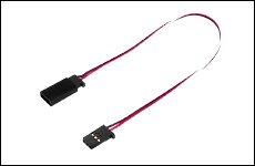 FUTABA 302329 サーボ用延長コード 50-300J 300mm 大電流50芯タイプ