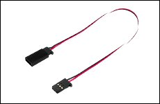 FUTABA 304422 サーボ用延長コード 50-1000J 1000mm 大電流50芯タイプ