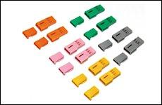 FUTABA 304439 カラーハーネスセット B3Pタイプコネクター 5色オス/メス2セット(20ケ入)