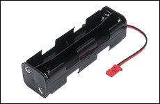 FUTABA BA0531 電池ボックス 8P-BH・JST付 SKYSPORT-6,FF8,FF9用,NewFF7用