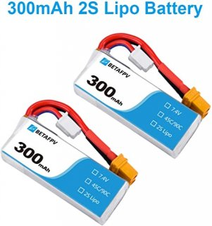 Beta75X用 XT30 7.4V-300mAh(2PCS)