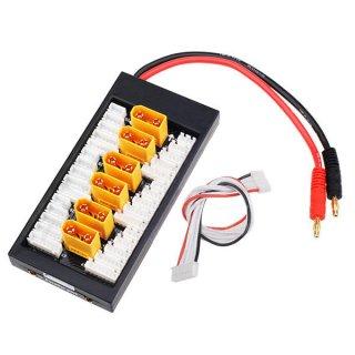 XT90-6ポート並列充電ボード(2-6S対応)