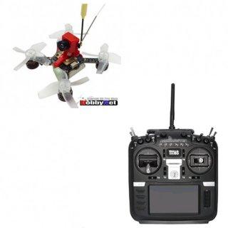 Jumper X73S 赤色(S-FHSS仕様)+TX16Sプロポ付き