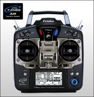FUTABA T10JH 2.4GHz T-FHSS ヘリ用 R3008SBx2