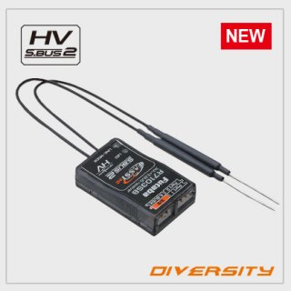 FUTABA R7103SB 2.4GHz FASSTest 空用 S.BUS対応テレメトリー受信機