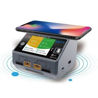 HOTA D6デュアルチャンネルスマート充電器