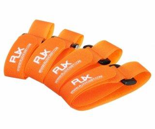 軽量Battery Strap(4pcs) 20x400mm 10S用 オレンジ色