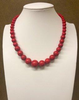 【限定】天然貴重 赤トルコ石 ネックレス特典付き