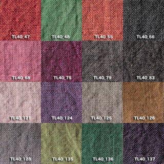 Fanage linen(天日干しリネン)100%生地 TL4400 47から137 40番手使用