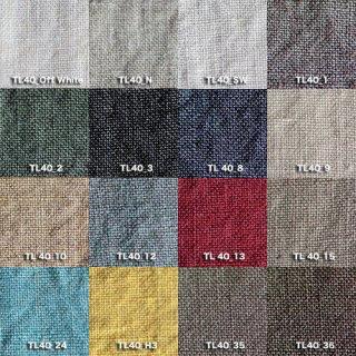 Fanage linen(天日干しリネン)100%生地 TL4400 OWから36 40番手使用