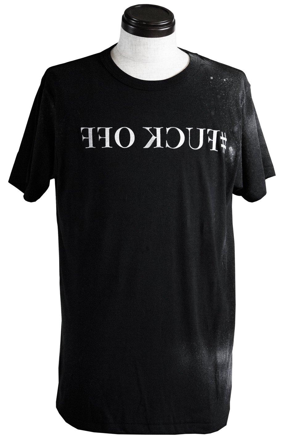 #FUCK OFF T-SH. ~うるせぇ黙れこの野郎Tシャツ~BLACK