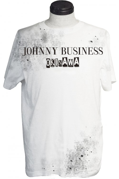 JOHNNY BUSINESS in the Your City T-SH. Splash Ver.