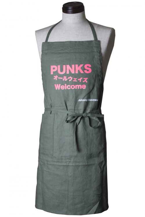 JB×THE._.ALIENS W NAME APRON