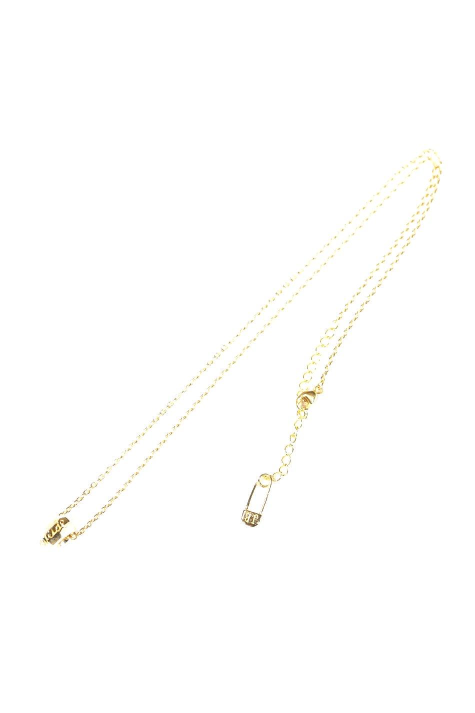 Cut Beads Necklace 14KGFLD