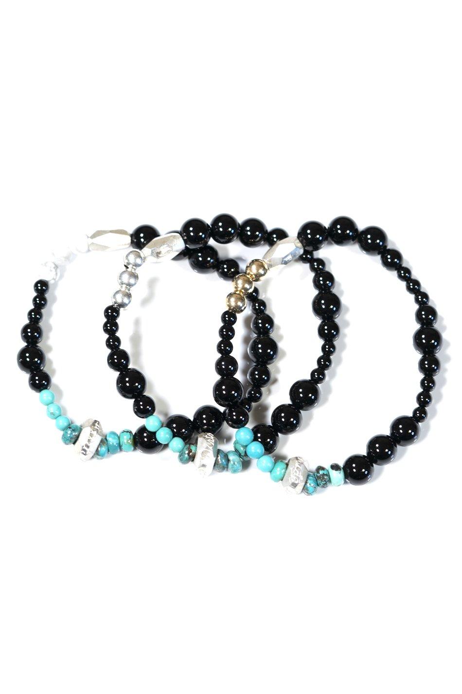 Cut Beads Bracelet/White