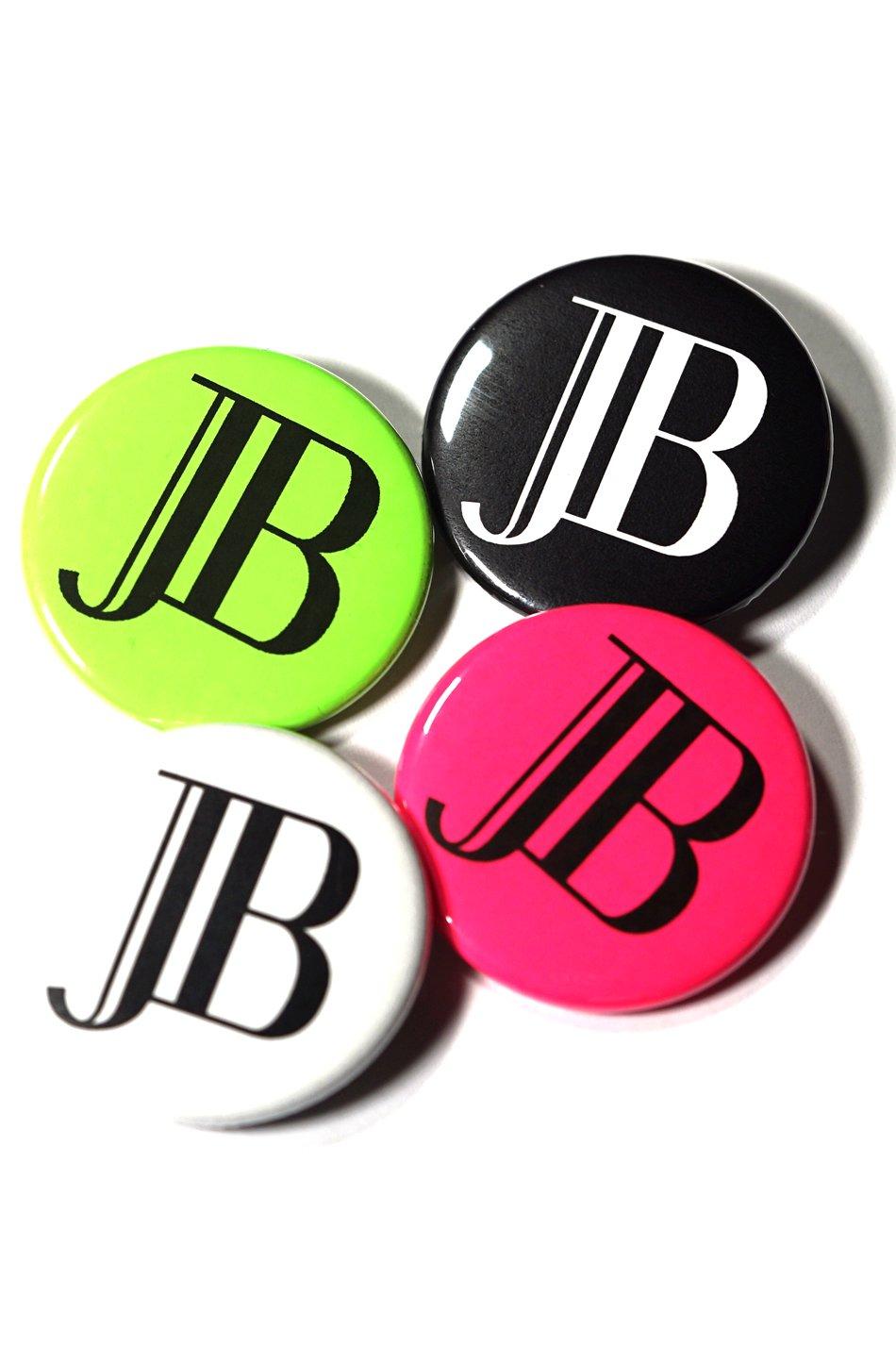 JB LOGO PinBack Button