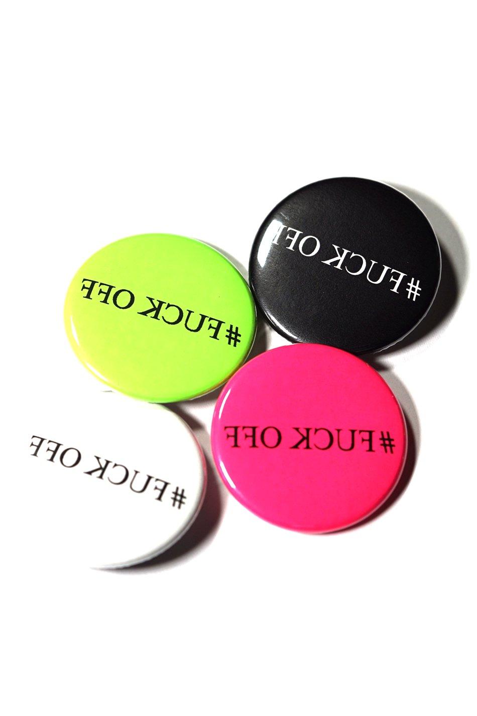 #FUCKOFF PinBack Button