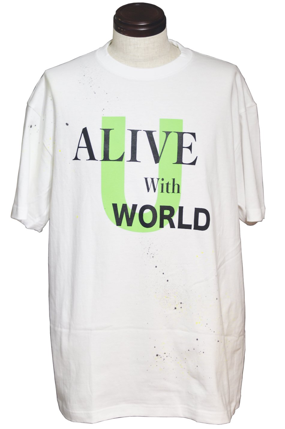 Alive with world(u).