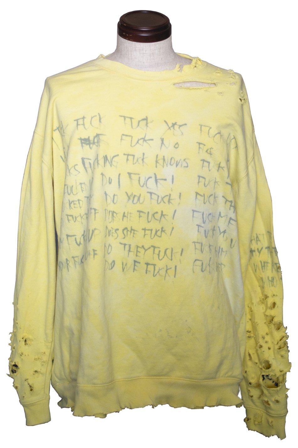 DESTROY '' FUCKS'' P/O Yellow Ver.1