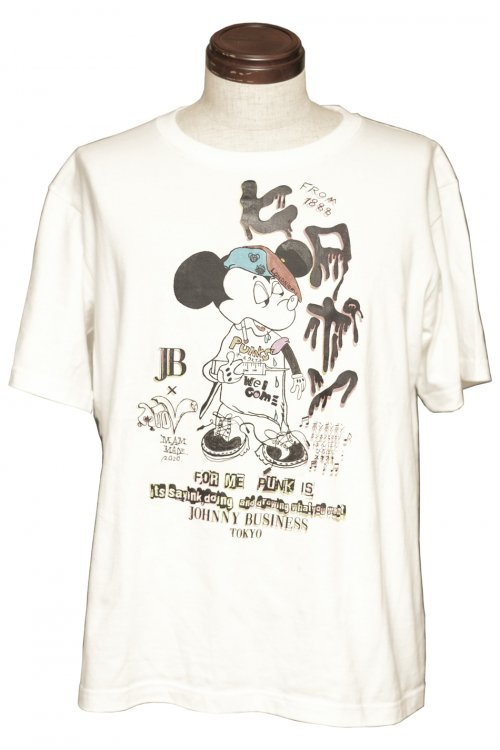 JB×ATOV W NAME HIROPON Tee Special