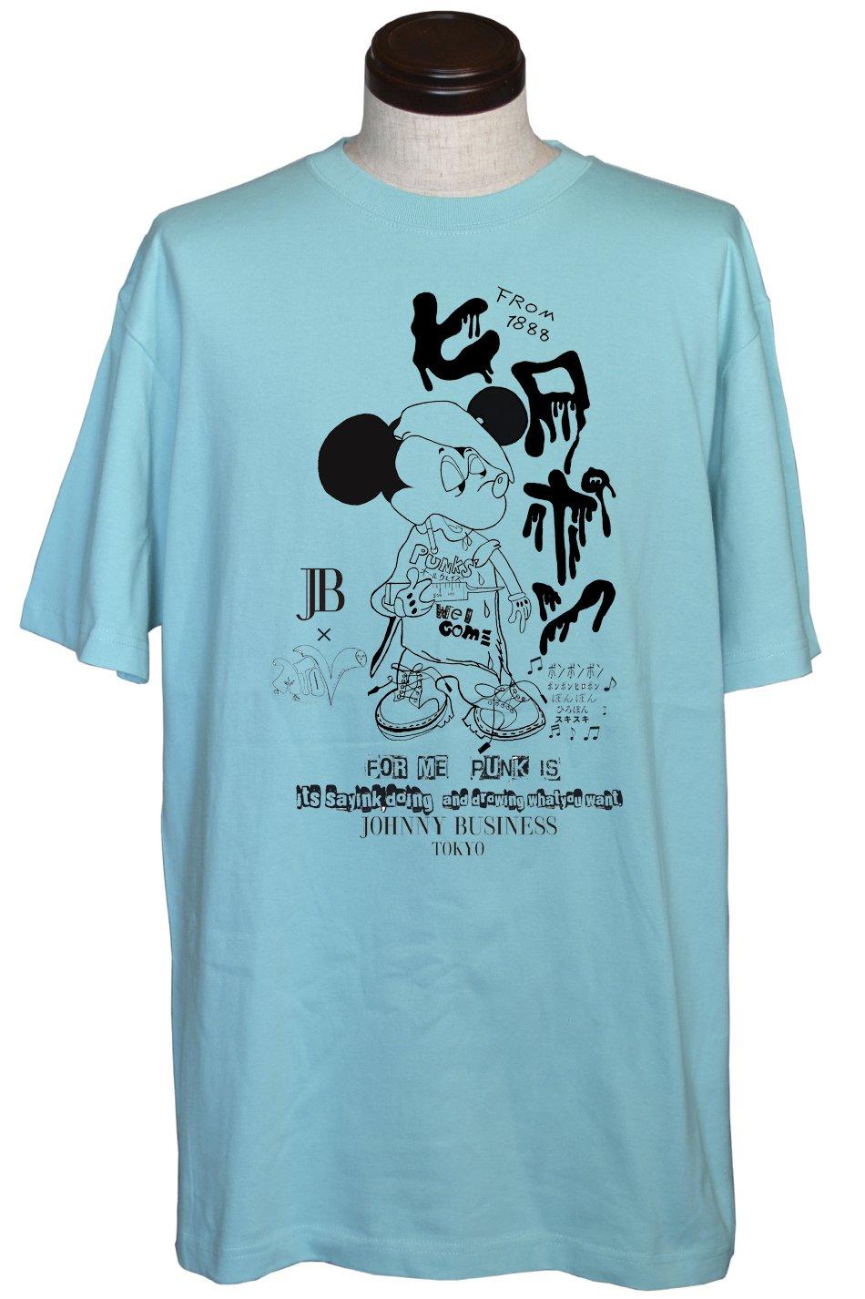 JB×ATOV W HIROPON Tee Color Ver.