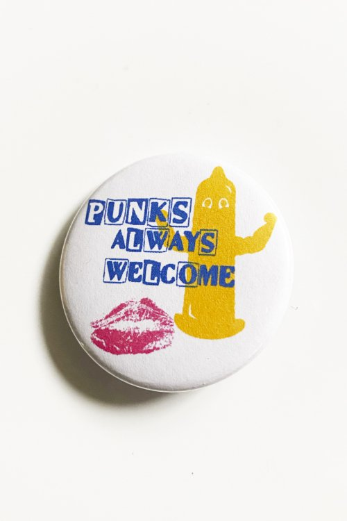 チンリプ PinBack Button