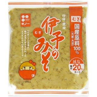 伊予のみそ つぶ 600g ギノー 愛媛 麦麹たっぷり 粒みそタイプ