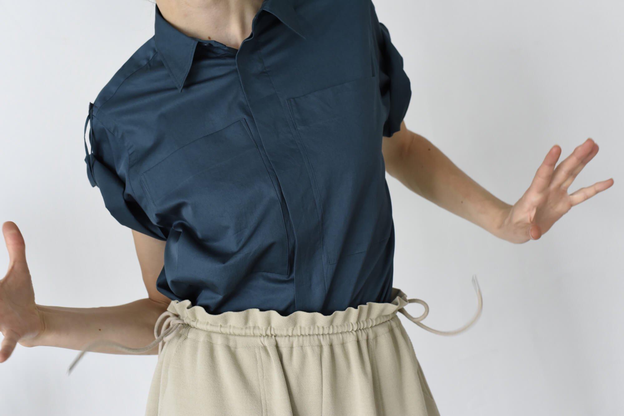 washed egyptian cotton-twill shirt