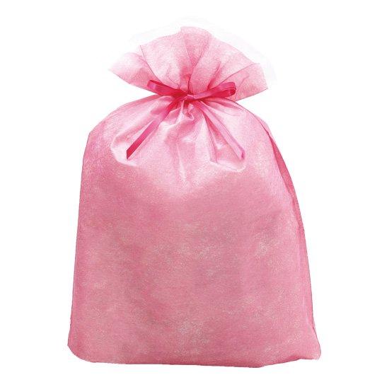 シンテックス巾着BAG ピンク LL