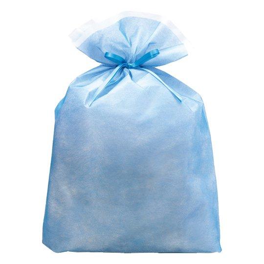 シンテックス巾着BAG ブルー LL
