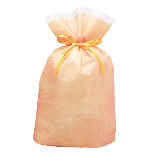 【巾着袋】シンテックス巾着BAG イエロー L