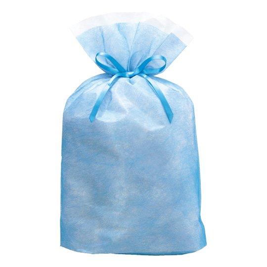 【巾着袋】シンテックス巾着BAG ブルー L
